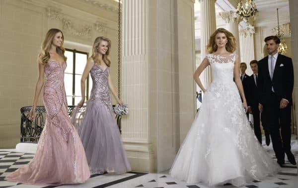 Вечерние и свадебное платье для официального торжества