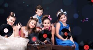 Детские наряды в стиле стиляг
