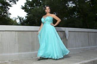 Очень дорогое платье большого размера