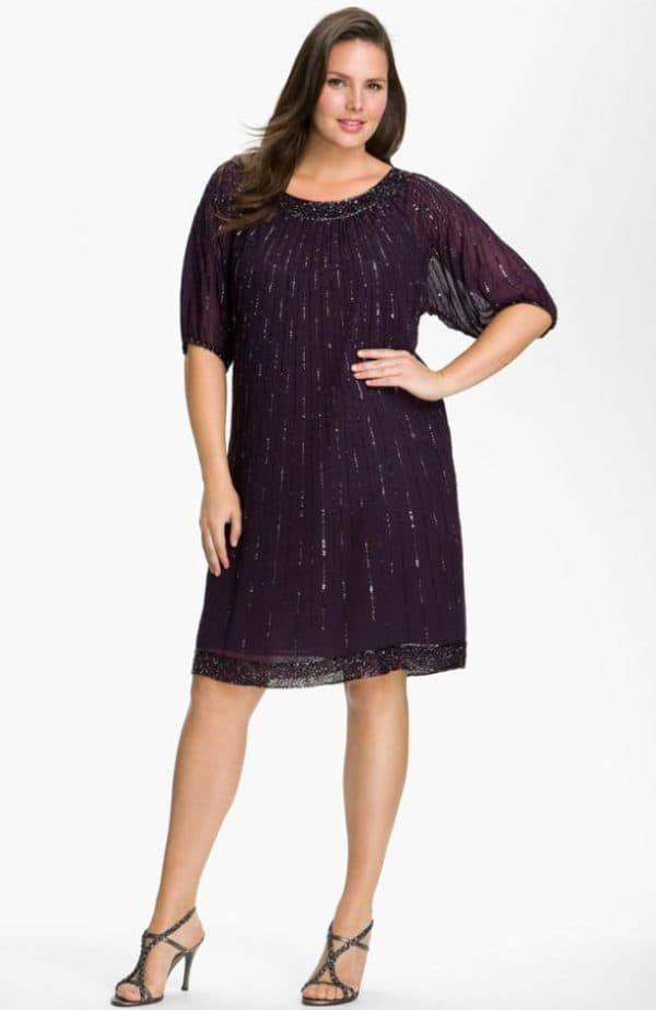 platye-iz-gipyura-600x923 Гипюровые платья: удачные фасоны для полненьких девушек – Мода для полных