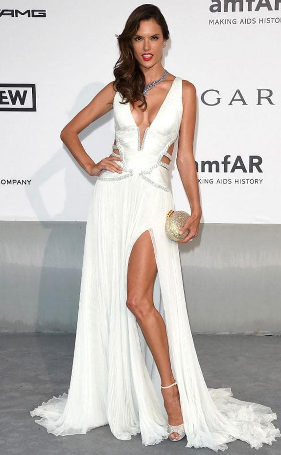 открытое платье от Roberto Cavalli