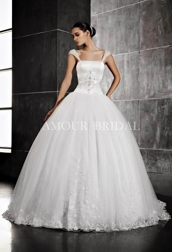Пышое свадебное платье