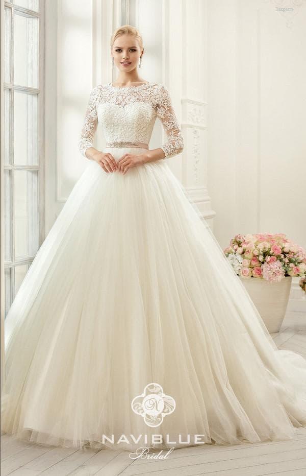пышное свадебное платье  в классическом стиле