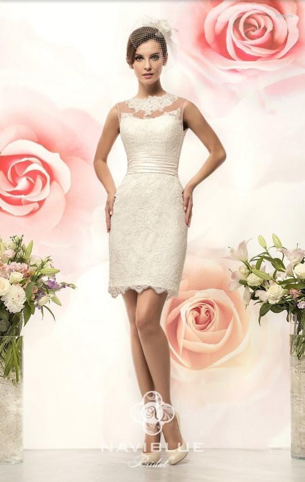Платье-футляр для невесты