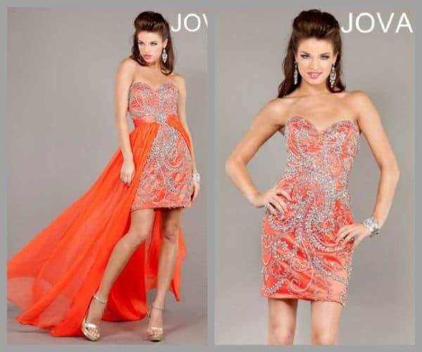 Свадебное платье от Jovani