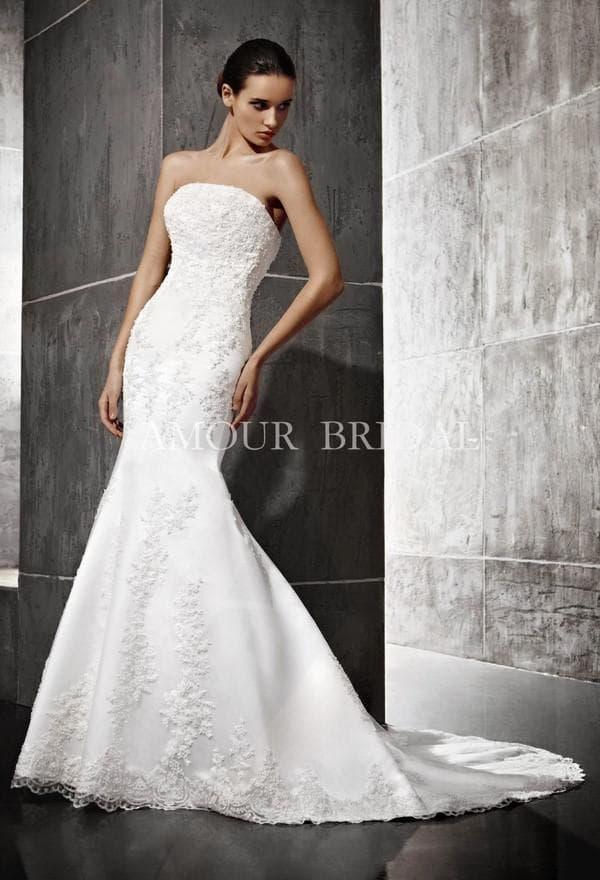 Платье в стиле апмир от Amour Bridal