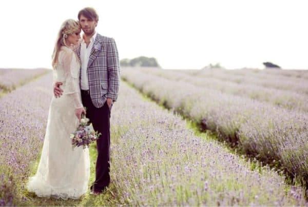 Платья на свадьбу в прованском стиле