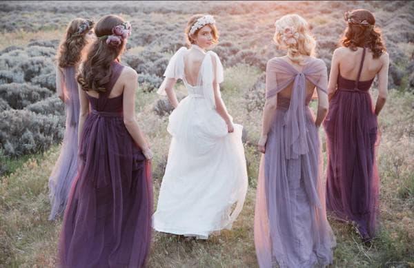 свадебные наряды в прованском стиле