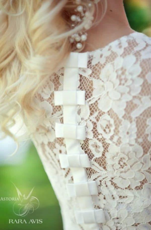 Узнаваемые детали свадебных платьев Рара Авис