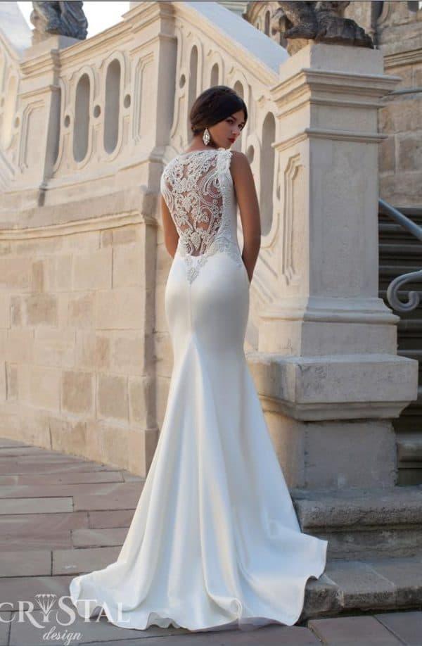 Платье в пол на свадьбу Crystal