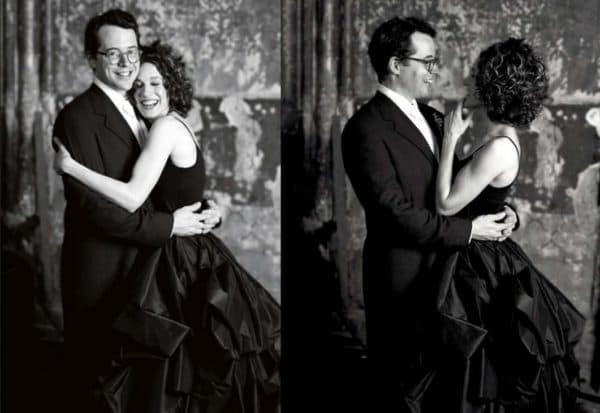 Свадебное платье черного цвета от Morgane Le Fay