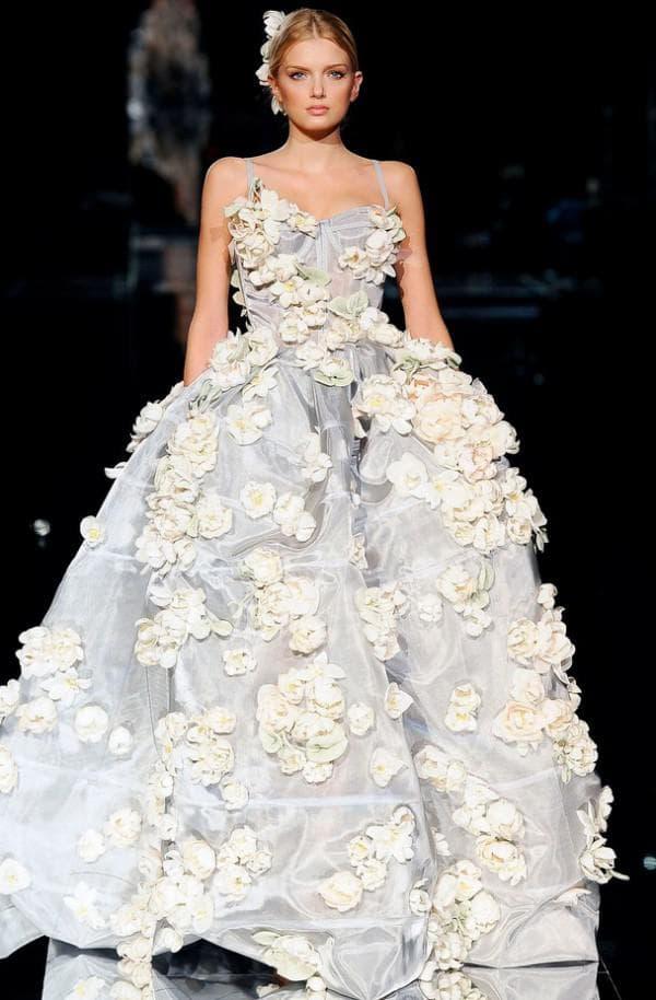 Свадебное платье от D&G