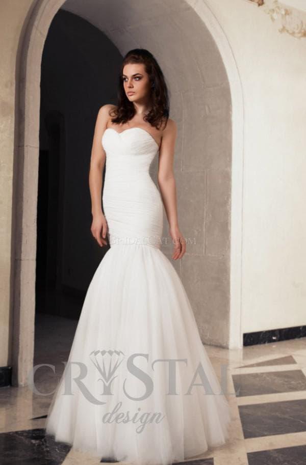 Свадебная модель платья в стиле прованс