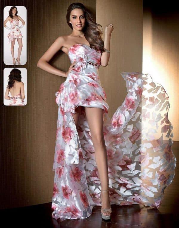 Платье-трансформер с открытыми ногами