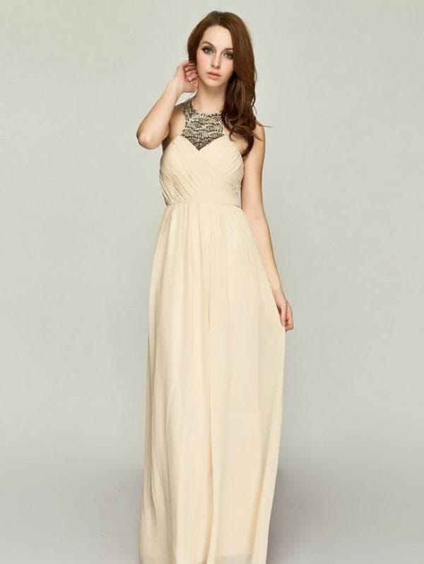Модное платье на выпускной в пол