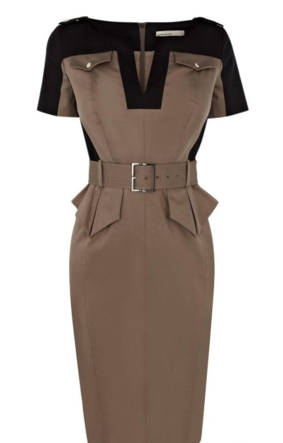 Платье для офисной работы на полную женщину