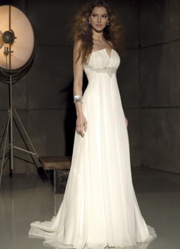 Свадебное платье для беременной женщины