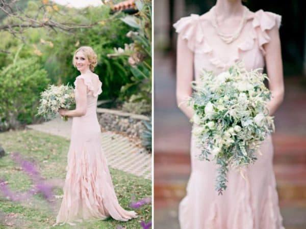 Платье на свадьбу рустик