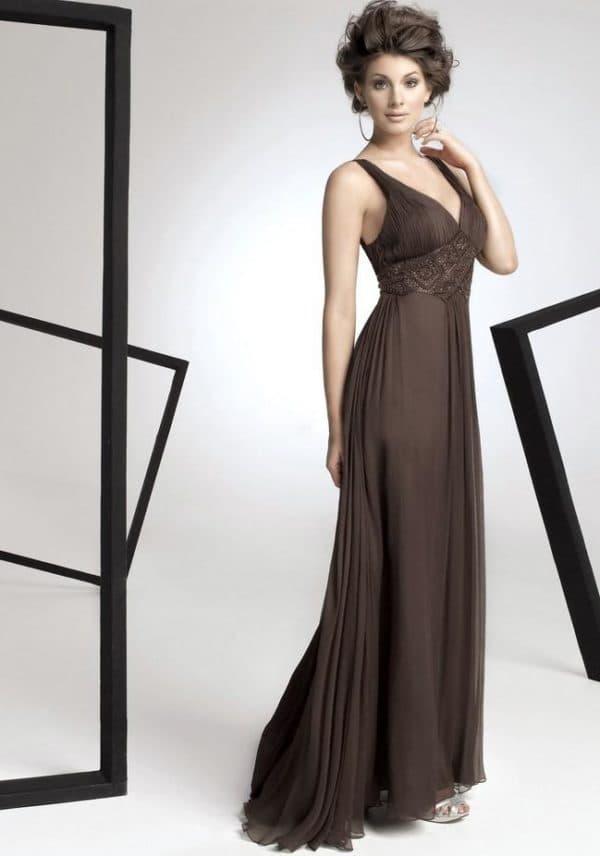 Платье для стройной женщины на свадьбу