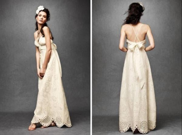 Сарафан на свадьбу для невесты