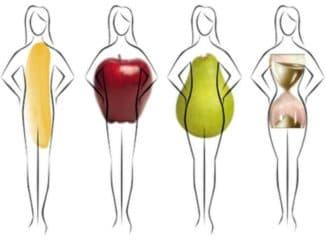 основные типы женских фигур