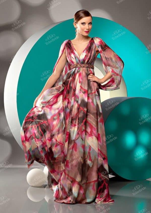 Универсальное вечернее платье для беременной