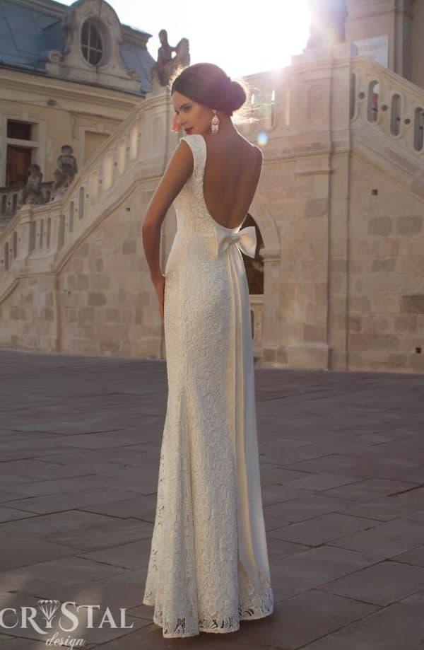 Кружевное платье на свадьбу