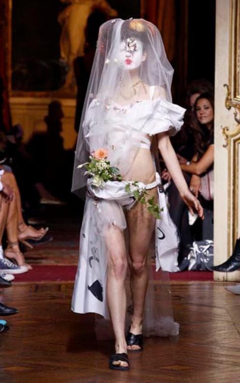 Свадебное платье без юбки
