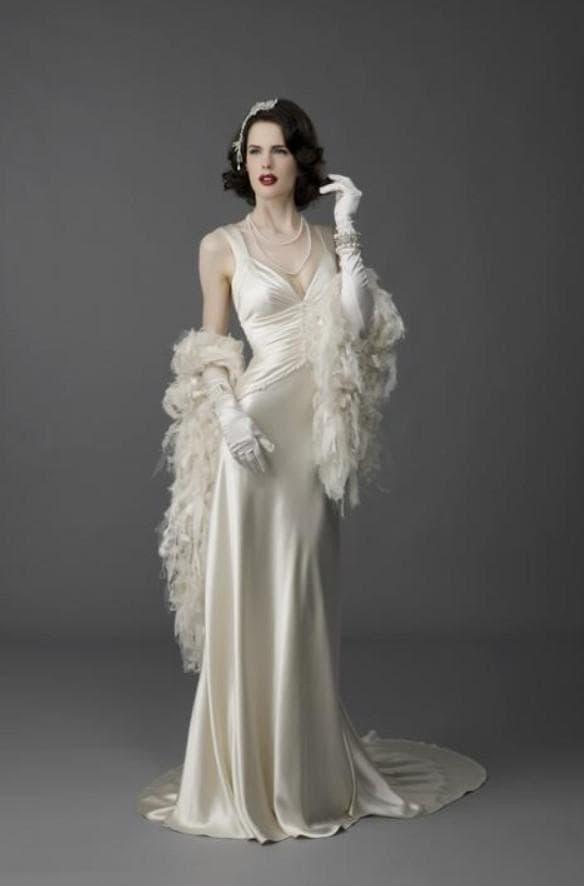 свадебное платье длинное в винтажном стиле