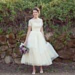 Назад в будущее: оригинальные свадебные платья в стиле винтаж