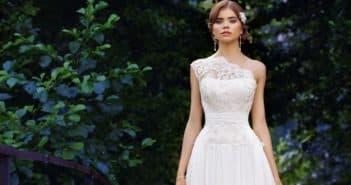 свадебные платья с кружевным лифом