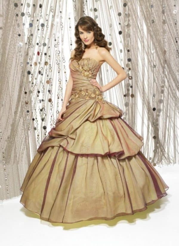 Бальное платье для леди