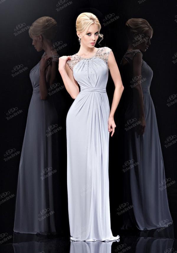 серое платье от to be bride