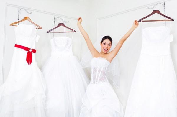 выбор свадебных платьев