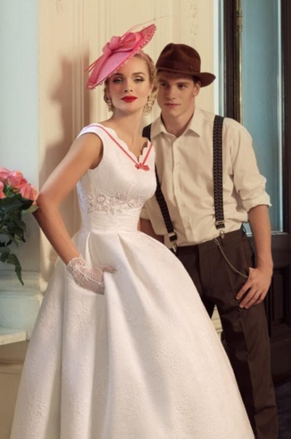 ретро стиль для невесты от русского кутюрье
