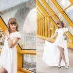 Оригинальные и такие манящие — свадебные платья короткие спереди длинные сзади