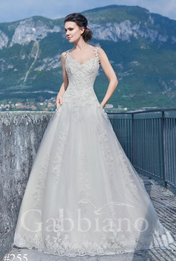 платье без рукавов для невесты