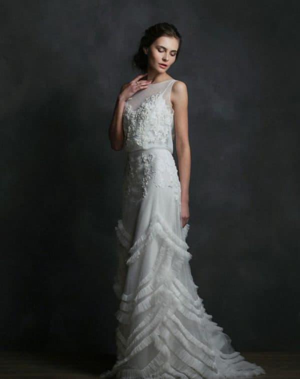 свадебное платье русское