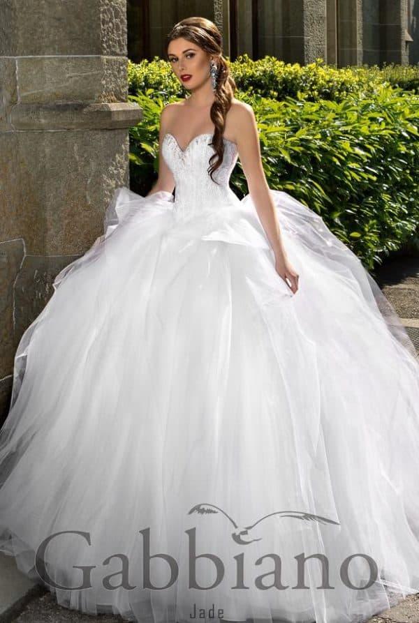 пышное платье для невесты