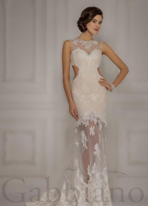 свадбеное платье русалочка