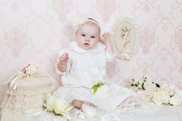наряд для крещения на девочку
