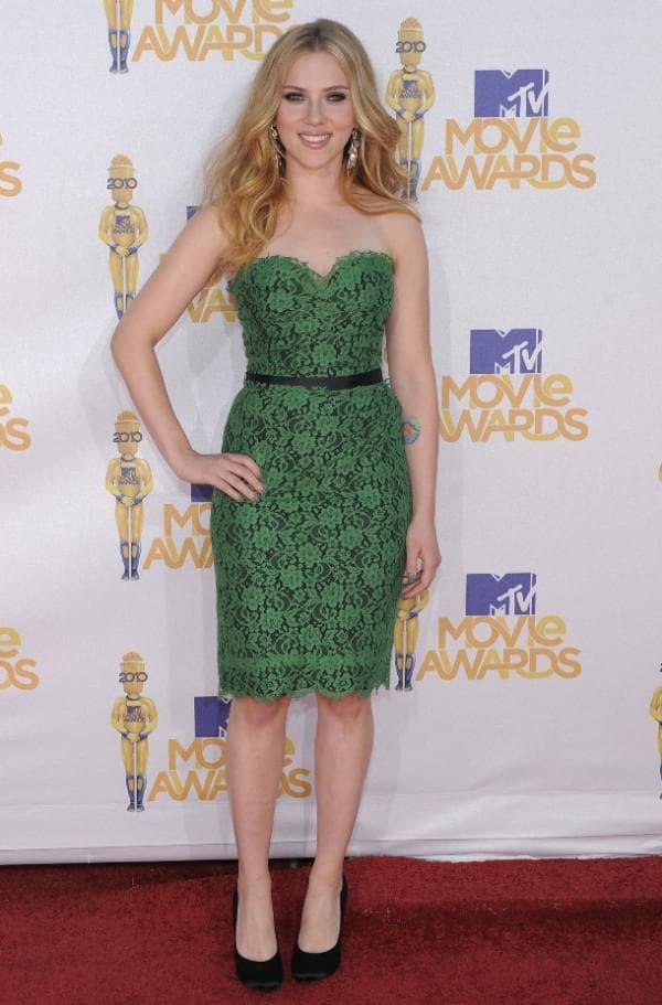 торжественное платье зеленого цвета