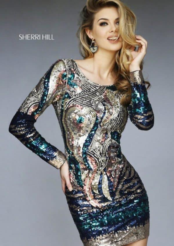 платье из новой коллекции Шерри Хилл