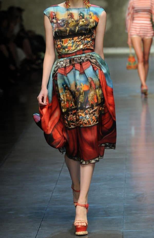 платье французской длины