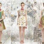 Нескучное ретро, или с чем носить платья с цветами