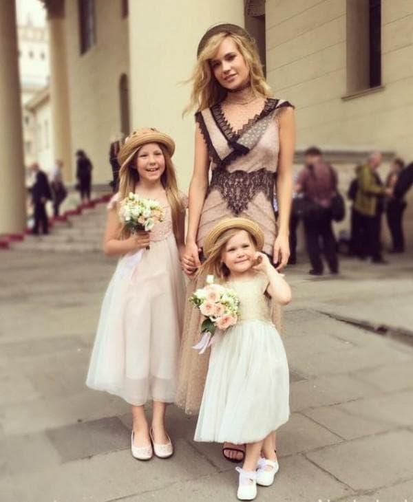 одинаковые платья для мамы и дочери