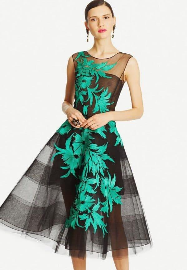 платье в ретро стиле от модного бренда