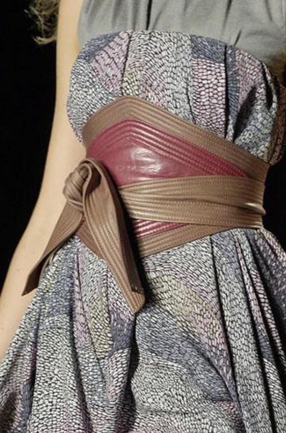 пояс корсет на платье