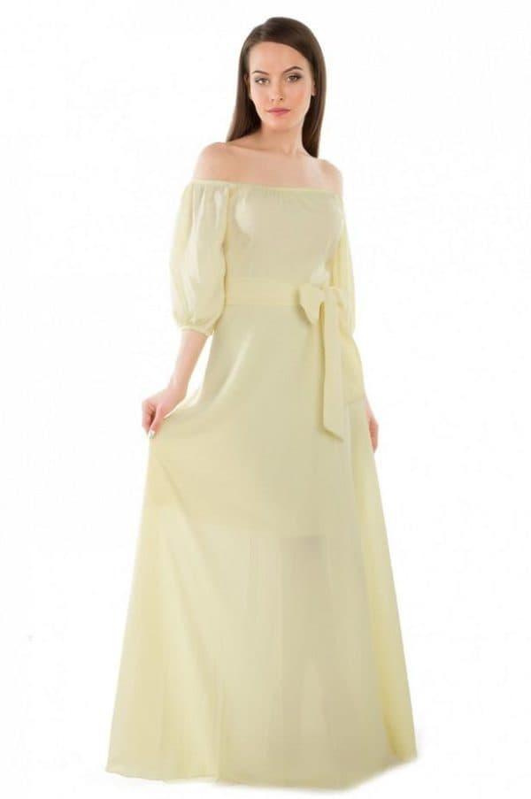 платье барышня крестьянка длинное