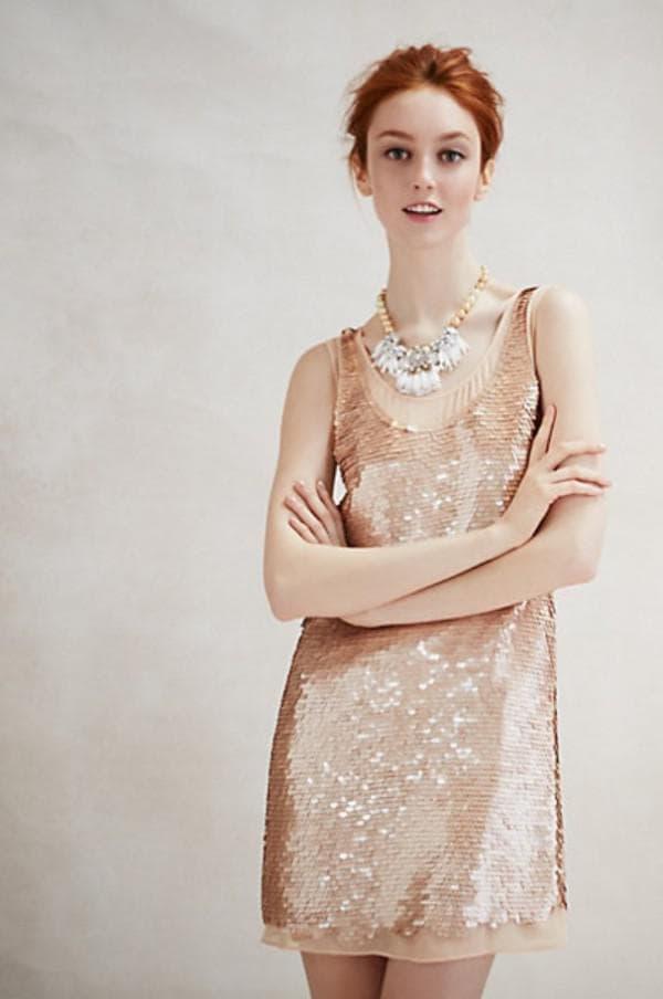 платье в стиле 20-х со стразами